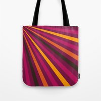 1d Tote Bags featuring Rays 1d by Patterns of Life