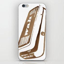 Wah Pedal iPhone Skin