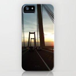 The Lake Maracaibo Bridge - III iPhone Case