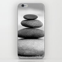 zen iPhone & iPod Skins featuring Zen by Anne Seltmann