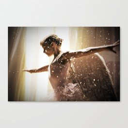 Angel Ballerina Canvas Print