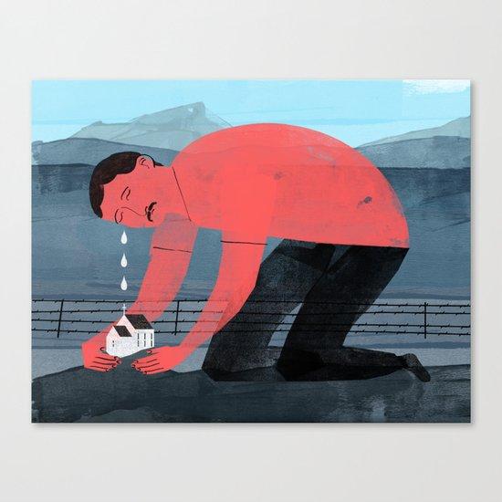 Church Farmer Canvas Print