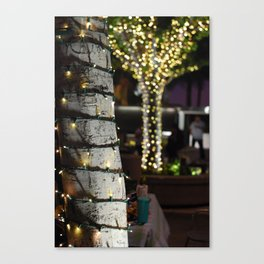 Tree Lights 2 Canvas Print