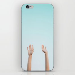 Hands in the Air iPhone Skin