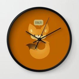 Little Furry Friends - Fox Wall Clock