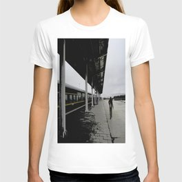 A Man In The Train Station T-shirt
