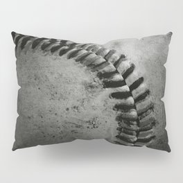 Black and white Baseball Pillow Sham