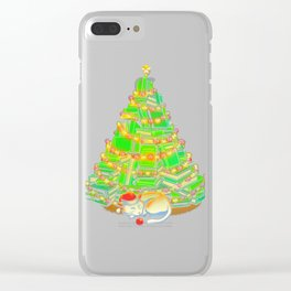 My Favorite Xmas Tree Clear iPhone Case