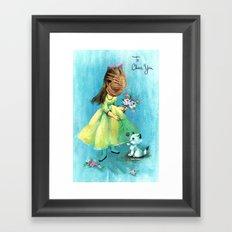 To Cheer You (face hugger) Framed Art Print