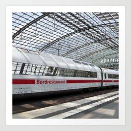White Train - Berlin Art Print