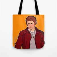 star lord Tote Bags featuring Star-Lord Dean by rdjpwns