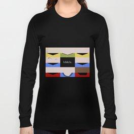 To Boldy Go - Star Trek The Original Series TOS - startrek Trektangle Kirk Spock Bones Minimalist Long Sleeve T-shirt