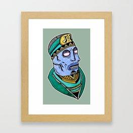 Two Blue Noses Framed Art Print