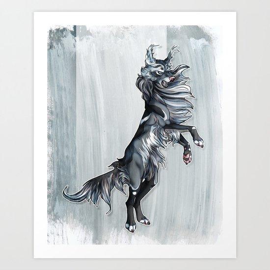 Windrunner Art Print