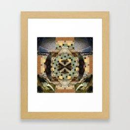 Isopod Mandala for Moebius Framed Art Print