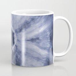 Tie Dye Navy Coffee Mug
