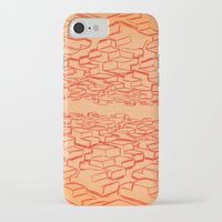 cars iPhone & iPod Cases featuring Cars by David King