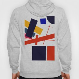 Geometric Abstract Malevic #12 Hoody