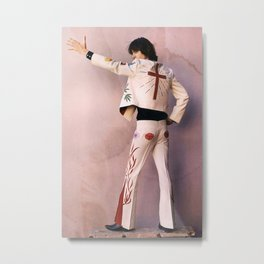 Gram Parsons Joshua Tree Photograph - Stunning Photo Poster Print - Nudie Suit Gram Metal Print