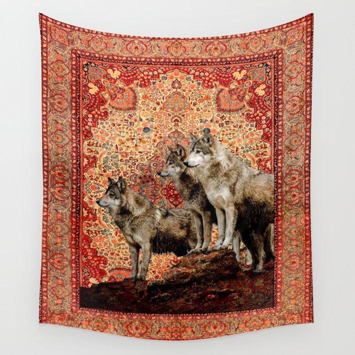 the wolf pack rudyard kiplings jungle book wall tapestry
