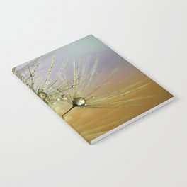 Dandelion & Droplets Notebook