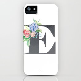 E iPhone Case