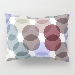 Polka dot pattern. dot on white background Pillow Sham