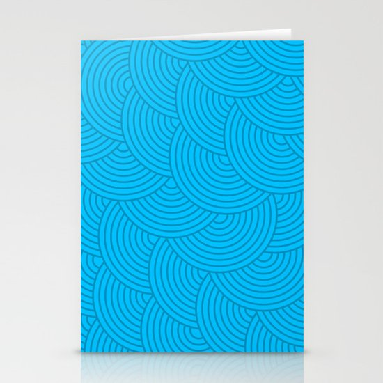 Dark Waves Stationery Cards