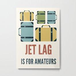 Travel poster Metal Print