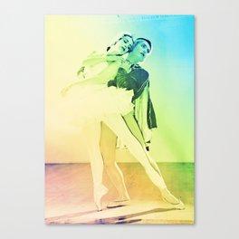 Pastel Ballet Canvas Print