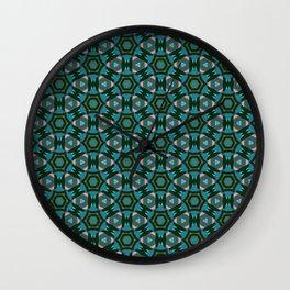 Multi Colored Medallion Wall Clock
