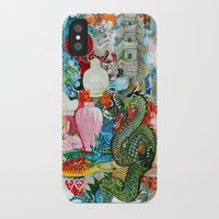 dragon iPhone & iPod Cases featuring Dragon by oxana zaika
