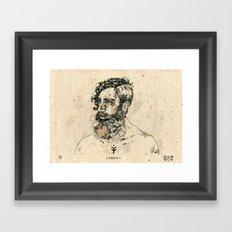 Lazlo Framed Art Print