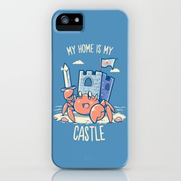 My Home is My Castle - Hermit Crab iPhone Case