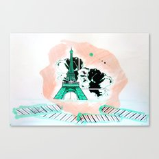 Son Paris 1.2 Canvas Print