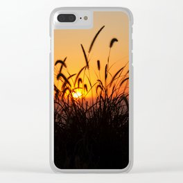 SoCal Sunset Clear iPhone Case