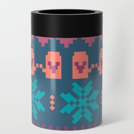 Fair Isle Christmas Can Cooler