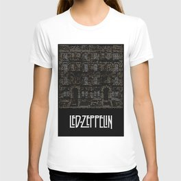 Physical Graffiti. Zeppelin lyrics print. T-shirt