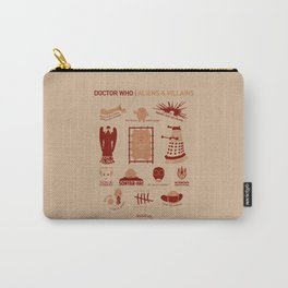 Doctor Who |Aliens & Villains Carry-All Pouch