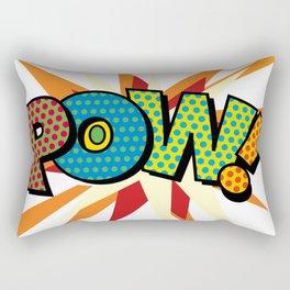 Comic Book Pop Art Sans POW! Rectangular Pillow