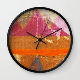 Popocatepetl Wall Clock