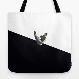 Diver (black) Tote Bag
