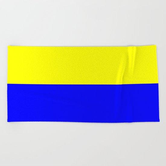 Flag of Zandvoort Beach Towel