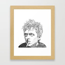 Billie Joe Armstrong - Word Art Framed Art Print