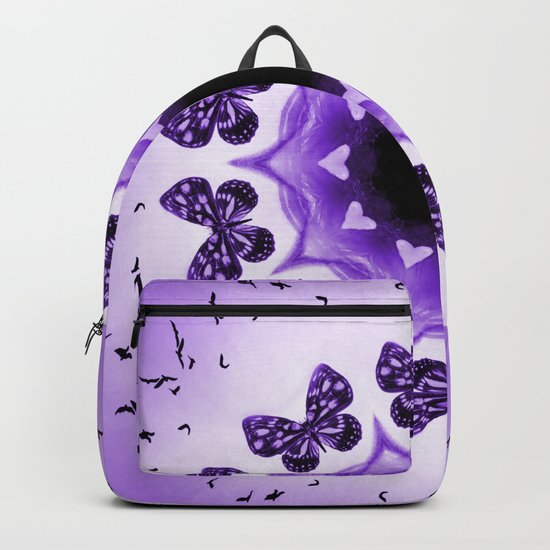 All things with wings (purple) Backpack