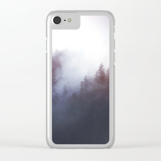 Stepping up to the throne Clear iPhone Case