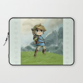 "Toon Link in ""Breath of the Wild"" Laptop Sleeve"