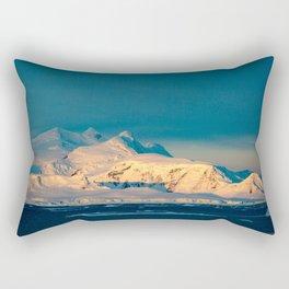 sunset over the Antarctic Rectangular Pillow