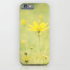 Green with buttercups iPhone 6s Slim Case