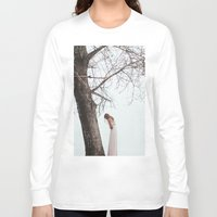 alone Long Sleeve T-shirts featuring Alone by Jovana Rikalo